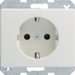 47150002 SCHU.SOCK.PLUG-IN ARS.WHI