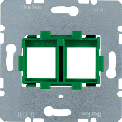454104 Supporting plate with green reception 2g
