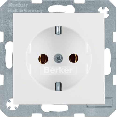 47438989 SOCKET OUTLET B1 PW